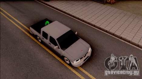 Nissan Ddsen Skrab 2016 для GTA San Andreas вид справа