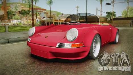 Porsche 911 RWB Speedster 1984 для GTA San Andreas