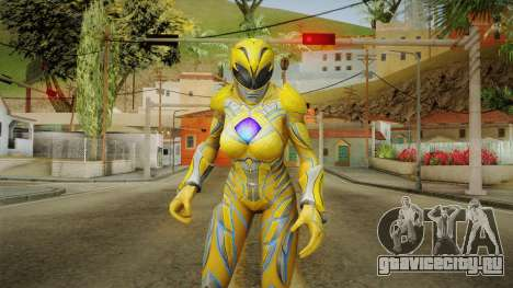 Yellow Ranger Skin для GTA San Andreas