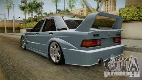 Mercedes-Benz W201 190E для GTA San Andreas вид справа