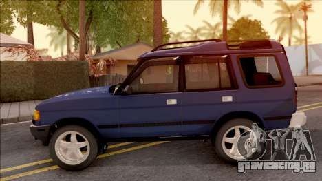 Land Rover Discovery для GTA San Andreas вид слева