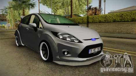 Ford Fiesta Rocket Bunny для GTA San Andreas вид справа