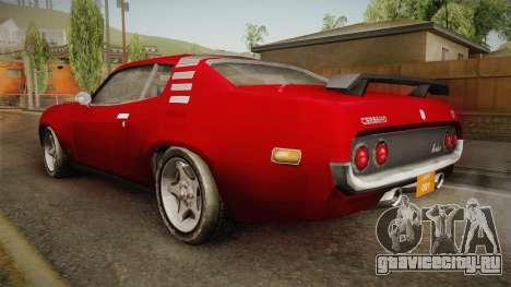 Driver PL - Cerrano для GTA San Andreas вид слева