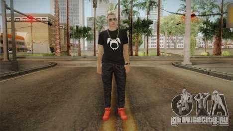 Bad Bunny Skin для GTA San Andreas второй скриншот