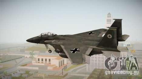 F-15 Eagle Luftwaffe 1945 для GTA San Andreas вид слева