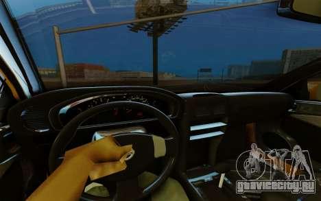 Nissan Almera для GTA San Andreas вид сзади