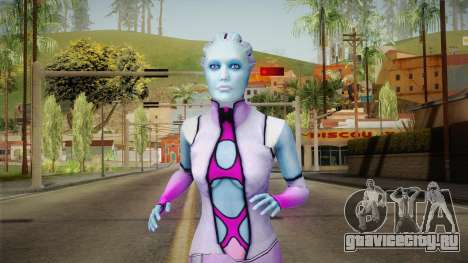 Mass Effect 3 Shaira Dress для GTA San Andreas