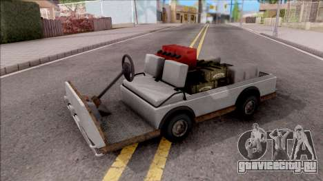 Caddy from GTA 5 DLC GunRunning для GTA San Andreas