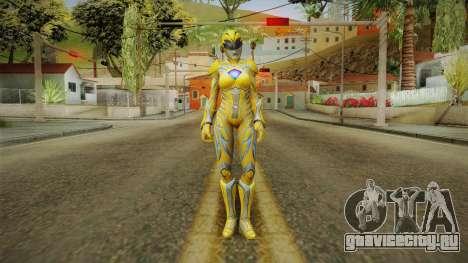 Yellow Ranger Skin для GTA San Andreas второй скриншот