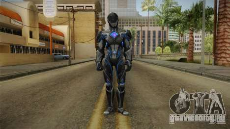 Black Ranger Skin для GTA San Andreas второй скриншот