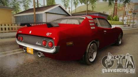 Driver PL - Cerrano для GTA San Andreas вид сзади слева