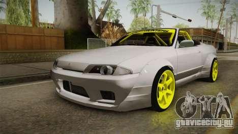Nissan Skyline R32 Cabrio Drift Rocket Bunny v2 для GTA San Andreas