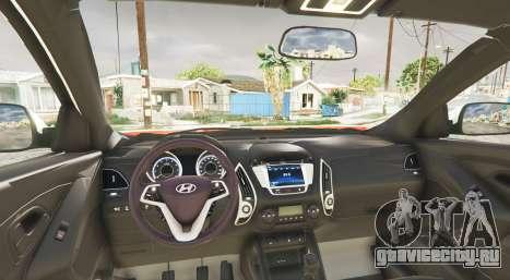 Hyundai Santa Fe (DM) 2013 [add-on] для GTA 5 вид сзади справа