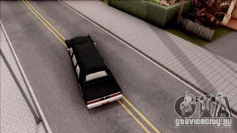 Driver PL Chauffeur для GTA San Andreas вид сзади