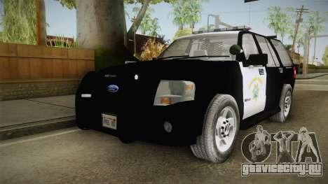 Ford Expedition CHP для GTA San Andreas