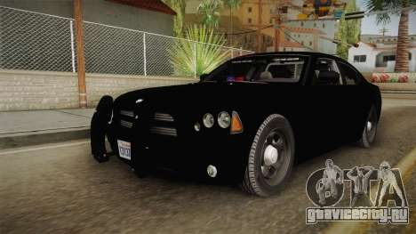 Dodge Charger 2010 Police для GTA San Andreas