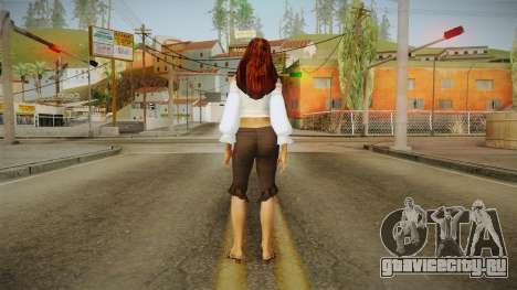 Zantanna Skin v2 для GTA San Andreas третий скриншот