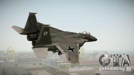 F-15 Eagle Luftwaffe 1945 для GTA San Andreas вид справа
