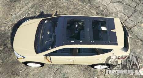 Hyundai Santa Fe (DM) 2013 [add-on] для GTA 5 вид сзади