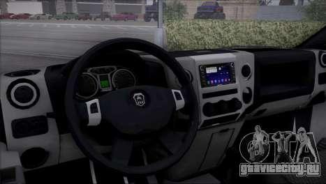 GAZon Next Самосвал для GTA San Andreas вид сзади слева
