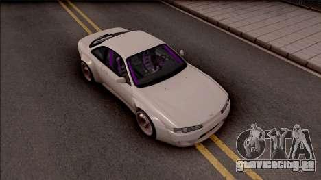 Nissan 200SX Drift Rocket Bunny для GTA San Andreas вид справа