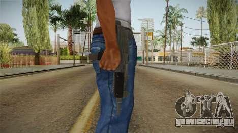 Battlefield Hardline Uzi для GTA San Andreas третий скриншот