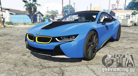 BMW i8 (I12) 2015 [add-on] для GTA 5