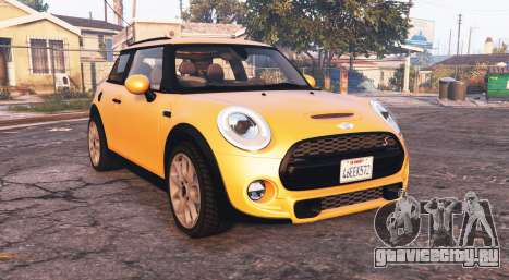 Mini Cooper S (F56) 2015 [add-on] для GTA 5
