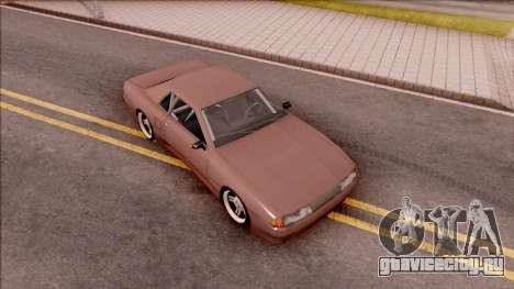 New Elegy v2 для GTA San Andreas вид справа