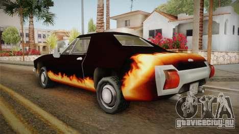 GTA SA DLC - Diablo Stallion для GTA San Andreas вид слева