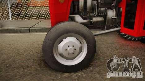 IMT 539 Deluxe для GTA San Andreas вид сзади