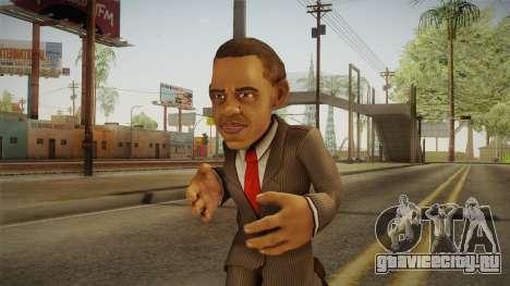 Barack Obama DD Skin для GTA San Andreas