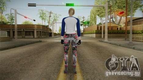Gun Running Female Skin для GTA San Andreas третий скриншот