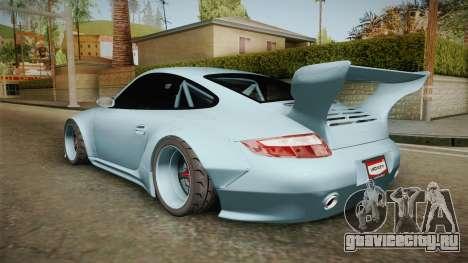 Porsche 997 Old & New 2008 для GTA San Andreas вид слева