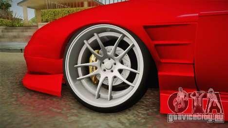 Nissan S14 240SX Front End для GTA San Andreas вид сзади
