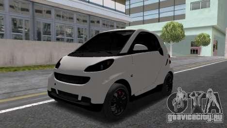 Smart ForTwo для GTA San Andreas