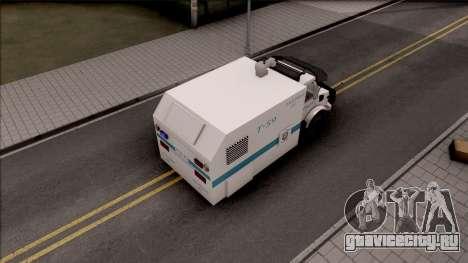 Mercedes-Benz Unimog Toma 2016 для GTA San Andreas вид сзади