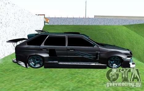 ВАЗ 2114 GTR SLS AMG для GTA San Andreas вид слева
