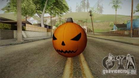 Green Goblin Classic Pumpkin Grenade для GTA San Andreas