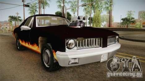 GTA SA DLC - Diablo Stallion для GTA San Andreas вид справа