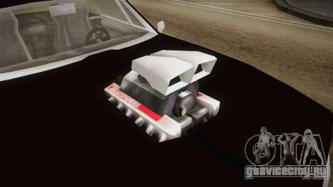 GTA SA DLC - Diablo Stallion для GTA San Andreas вид сзади