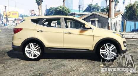 Hyundai Santa Fe (DM) 2013 [add-on] для GTA 5 вид слева