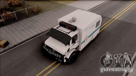 Mercedes-Benz Unimog Toma 2016 для GTA San Andreas вид справа