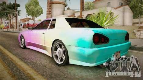 New Elegy Paintjob v2 для GTA San Andreas вид слева
