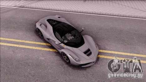 Ferrari LaFerrari v2 для GTA San Andreas вид справа