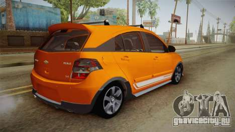 Chevrolet Agile Crossport Edition для GTA San Andreas вид слева