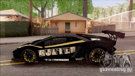 Lamborghini Aventador LP700-4 LB Walk Hunter для GTA San Andreas вид слева