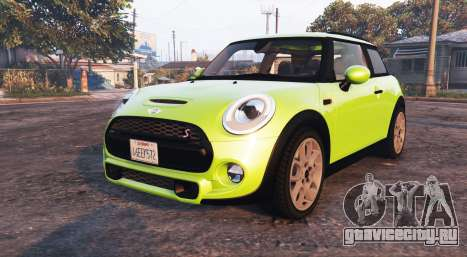 Mini Cooper S (F56) 2015 [replace] для GTA 5
