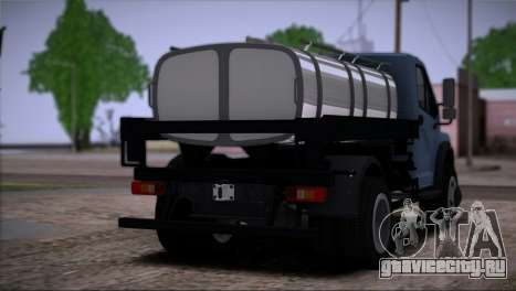 GAZon Next Бензовоз для GTA San Andreas вид слева