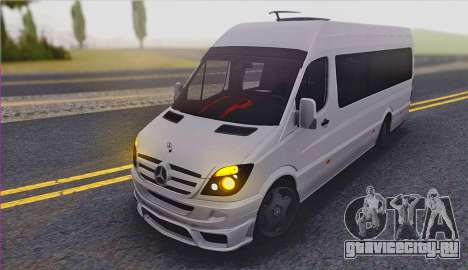 Mercedes-Benz Sprinter v3 для GTA San Andreas